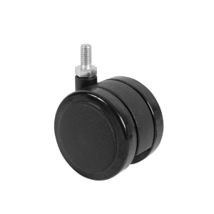 103029 60mm Soft Wheel Castor Threaded Pin