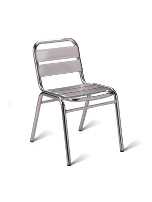 Aluminium Side Chair