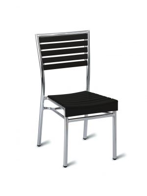 Monaco Side Chair - No Wood (Dark)