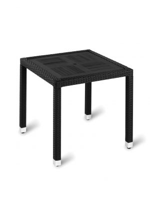 Geneva No Wood Top Table - Square Dining