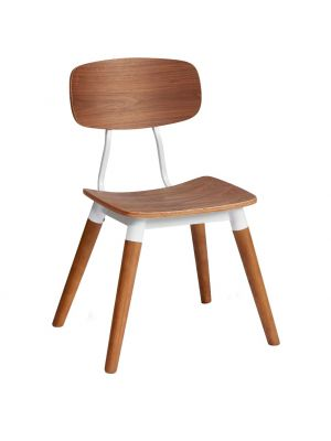 Florence Side Chair Wood Legs