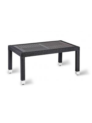 Geneva No Wood Top Table - Coffee Rectangle