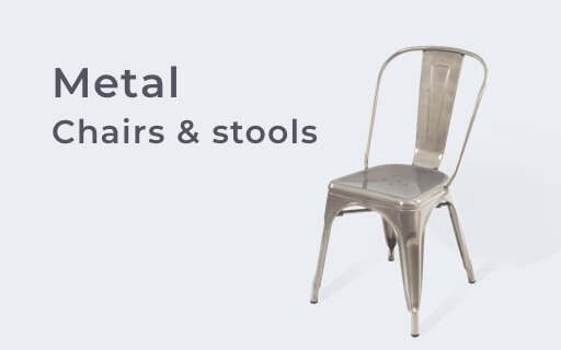 Metal Chairs and Stools